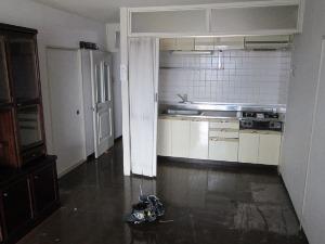 リフォーム前のI型キッチン