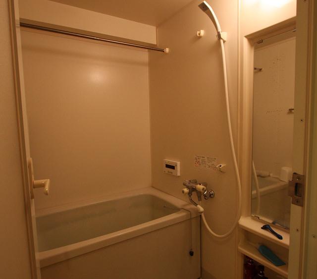 バリアフリー仕様にした浴室(Before)