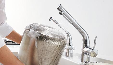 ミッテの水ほうき水栓