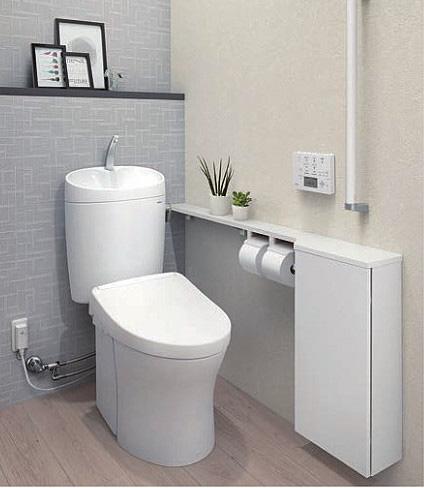 きれい除菌水を搭載したトイレ
