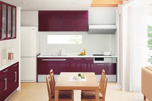 キッチンレイアウトI型